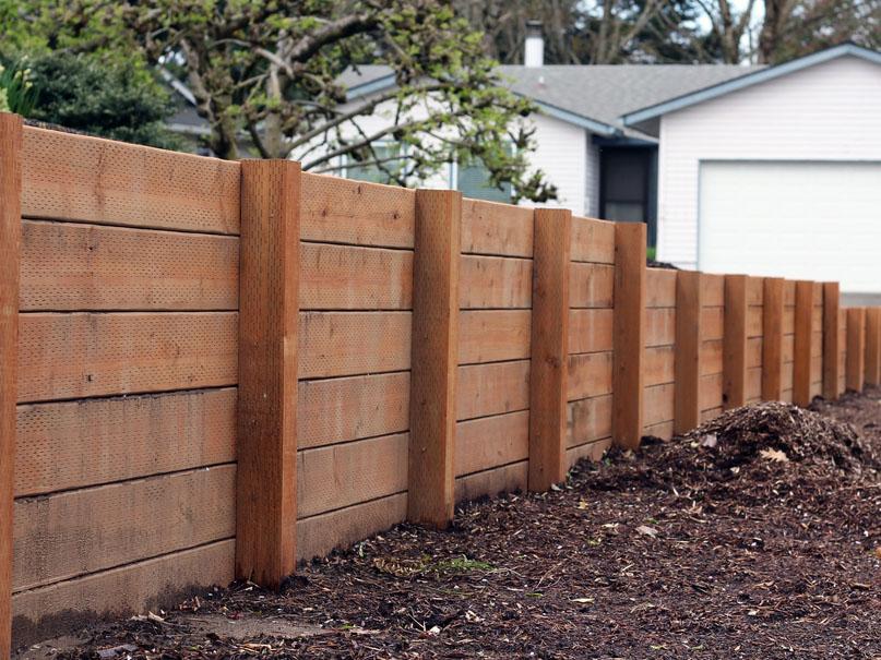 Barrier retaining walls service