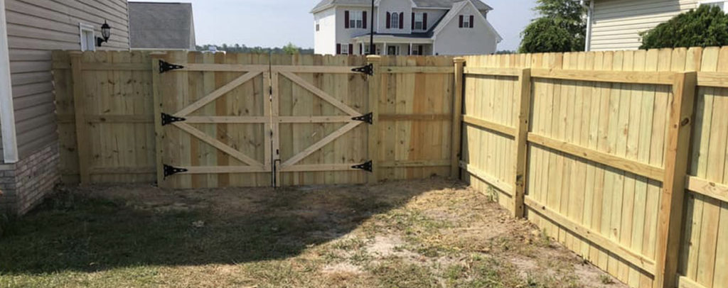 Custom fence and deck installation services