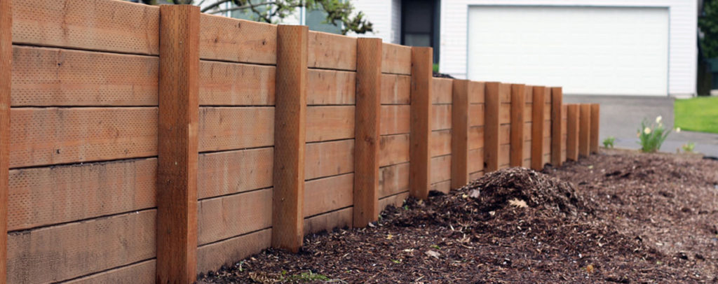 Barrier retaining walls services